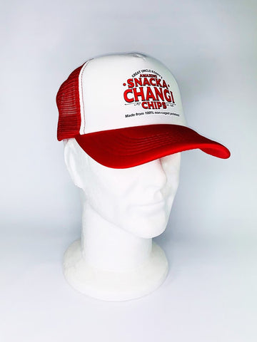 Snackachangi Trucker Cap - Red