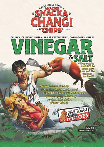 Snackachangi Poster - Vinegar