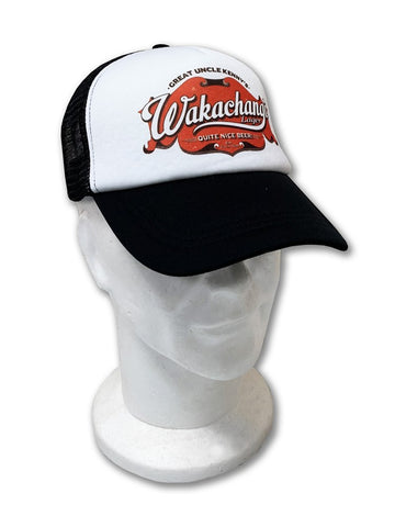 Wakachangi White Trucker Cap