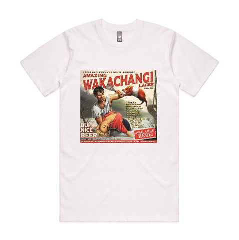Wakachangi White T-Shirt