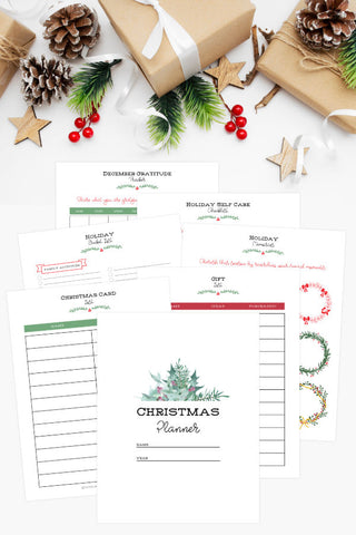 Printable Christmas Planner for 2020 (25 pages)