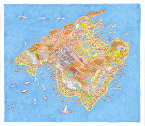 Illustrated Mallorca Map