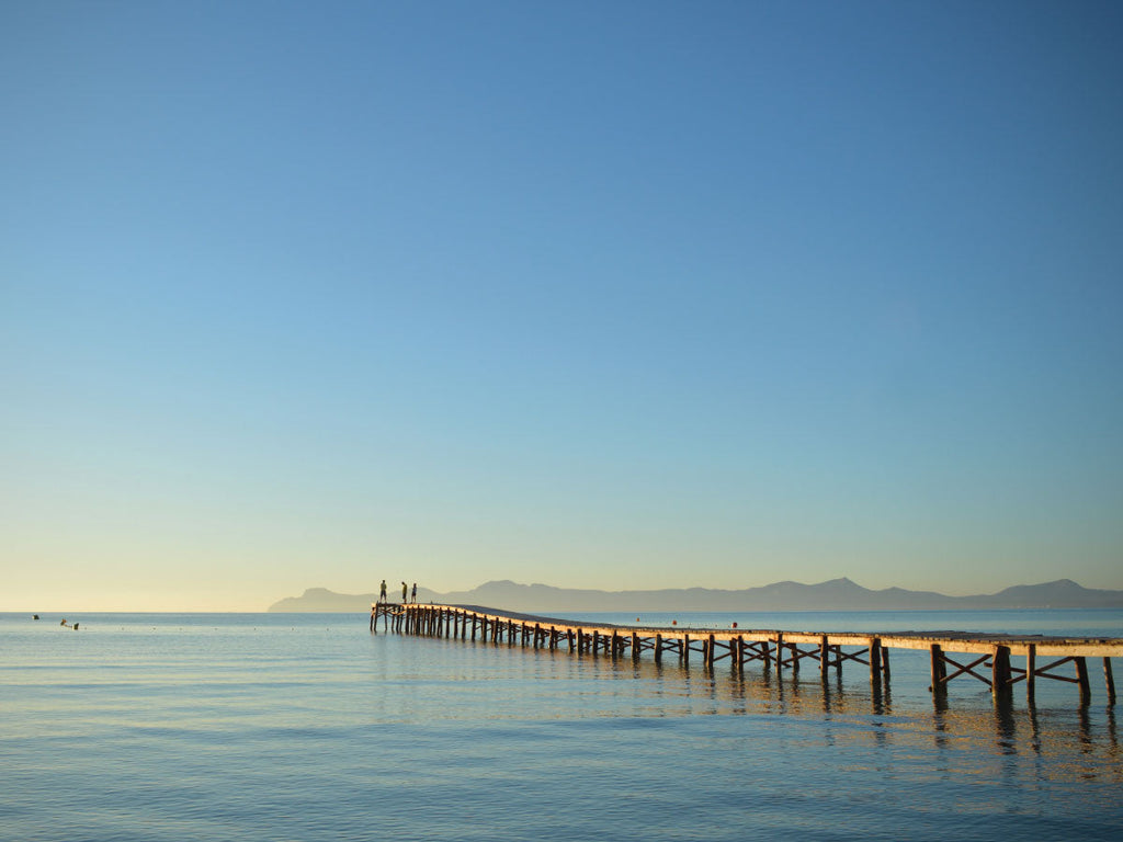 Alcudia Pier Photo Art