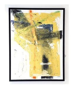 Yellow Explosion - Original and Unique Art Painting