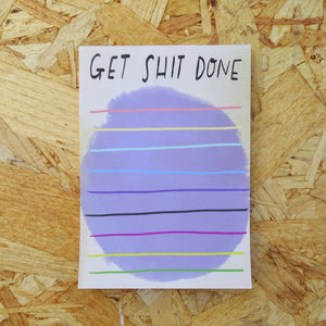 Get Sh!t Done Desk Jotter
