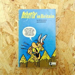 Vintage Asterix in Britain Book