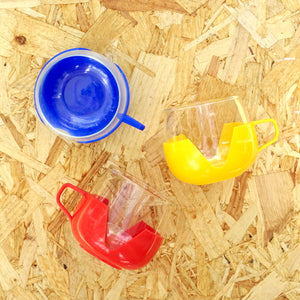 Vintage Glass & Plastic Mugs
