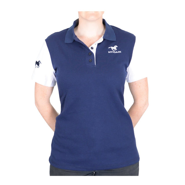 Hygain Ladies Polo with White Sleeve