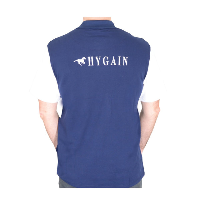 Hygain Mens Polo with White Sleeve