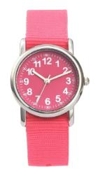 Kid Nylon Straps Wristwatch