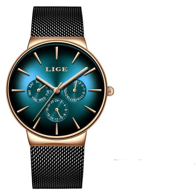 Mens Top Brand Luxury Quartz Watch