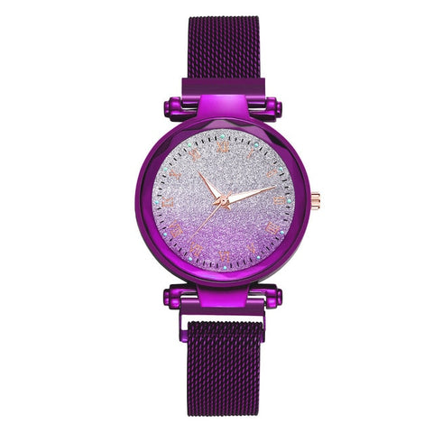 Starry Sky Watch Women's Luxury Magnetic
