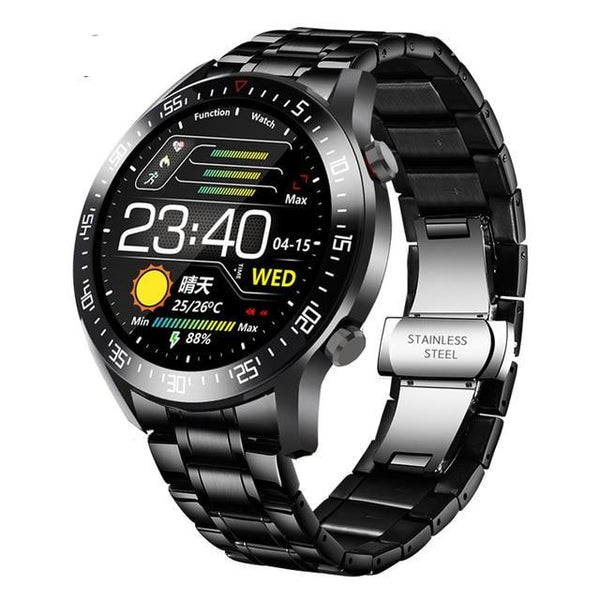 Men Sport Watches  Steel Band Digital Electronic LED Wrist Watch