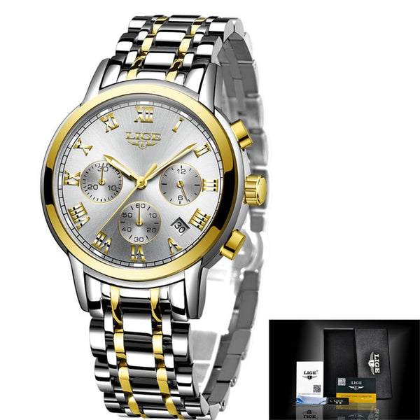 Top Brand Luxury Creative Steel Women Bracelet Watches