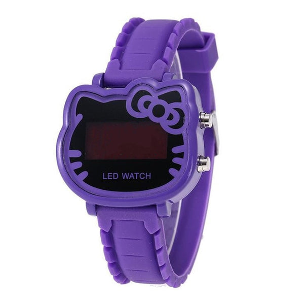 Children Watch Led Sports Kids Watches Girls
