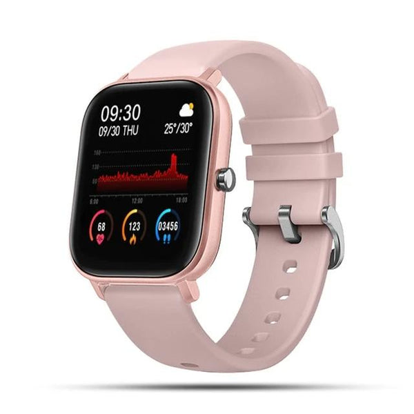 Women Smart Watch Sports Fitness Heart Rate Blood Pressure Monitor