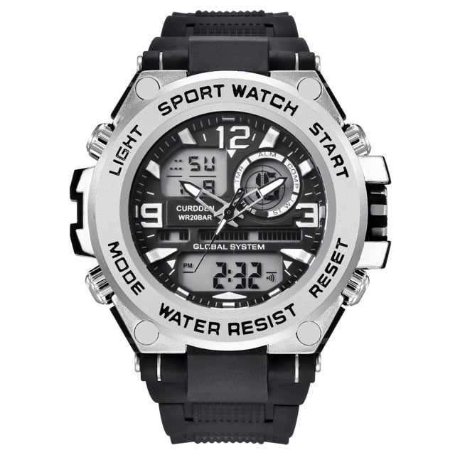 Men Led Smart Digital Sport Watch 30m Waterproof