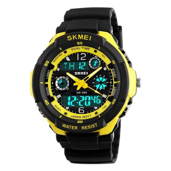 Children Sports Fashion LED Quartz Digital Watch Boys Girls