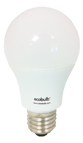 Ecobulb 9W E27 LED 3000K Dimmable Globe (1808)