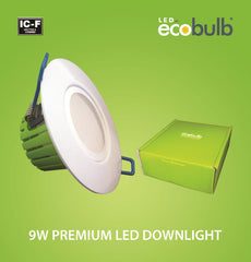 Ecobulb 9W Premium LED Downlight (1770) **Market Leading 5 Year Warranty**