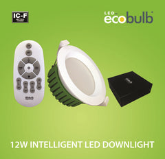 Ecobulb 12W Intelligent LED Downlight (1764) **Market Leading 5 Year Warranty**