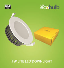 Ecobulb 7W LITE LED Downlight (1773) **Market Leading 5 Year Warranty**