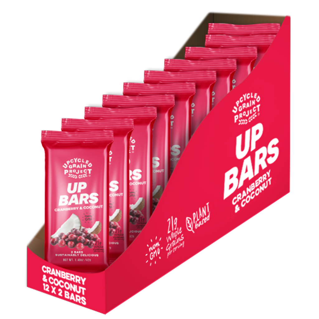 UP Bars – Cranberry & Coconut