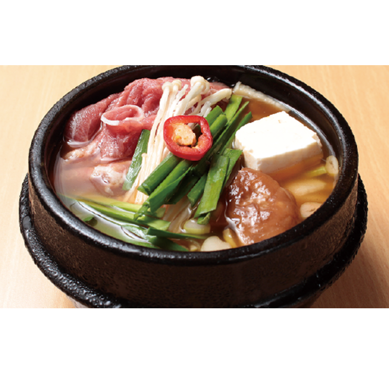 Soy Bean Paste Stew w/ Beef Brisket / 차돌된장찌개