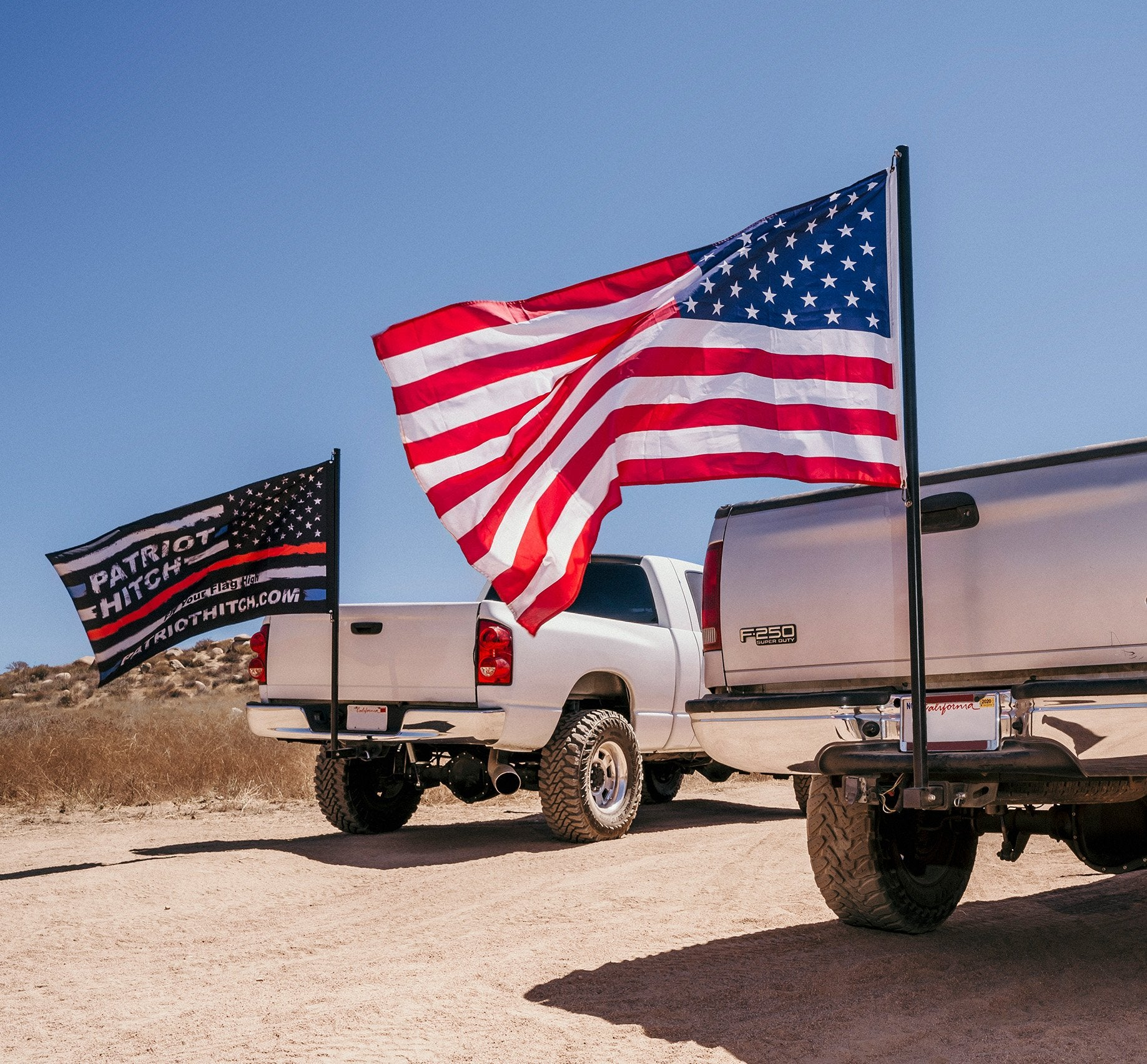 Patriot Hitch Flag Pole - Patriot Hitch