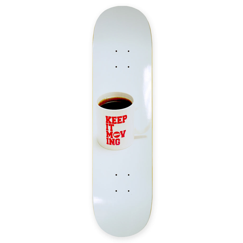 KEEP IT MOVING COFFEE DECK
