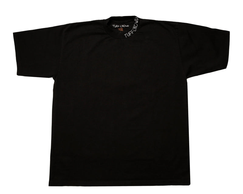 """ TUFF CROWD"" T-SHIRT BLACK"