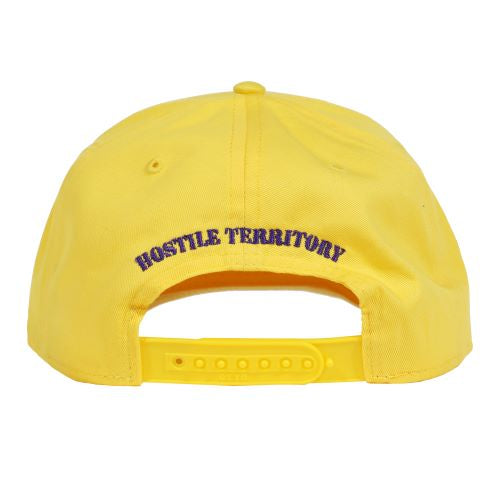 """TUFF CROWD"" HAT- YELLOW"