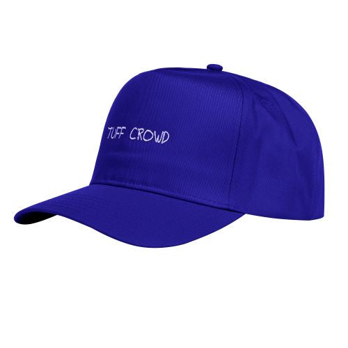 """TUFF CROWD"" HAT- BLUE"