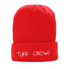 """TUFF CROWD"" RED BEANIE"