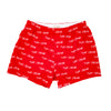 DEEBO BOXER SHORT- RED