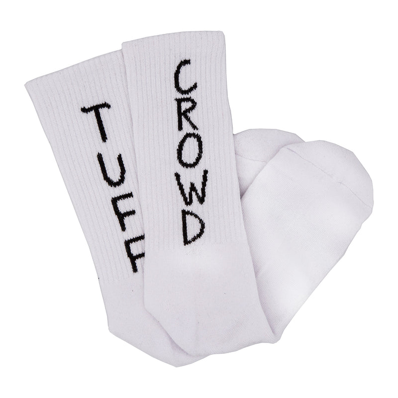 """TUFF CROWD"" SOCKS COMBO PACK - BLACK/WHITE"
