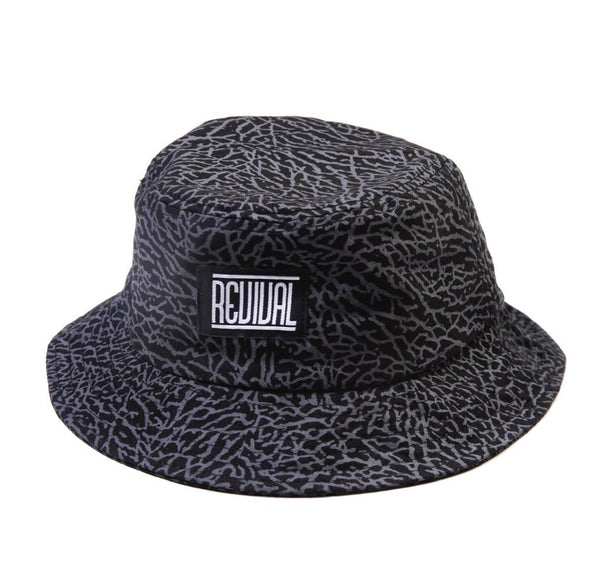 Sombrero - Black Cement Bucket Hat