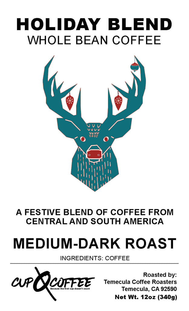 Holiday Blend - Medium - Dark Roast Coffee
