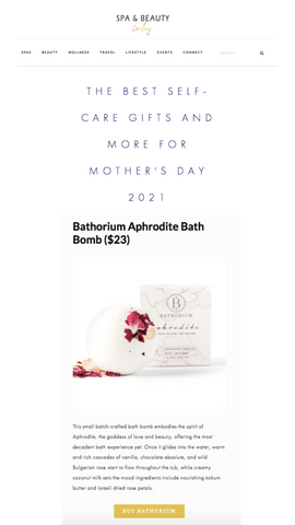 Aphrodite is top gift for Mom this Mother's Day