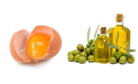 egg yolk and olive oil face mask recipe