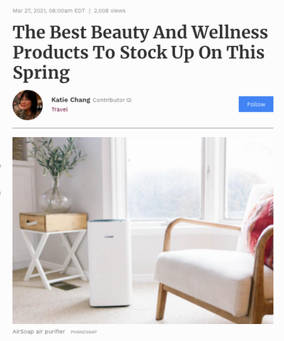 Forbes Best Beauty for Spring