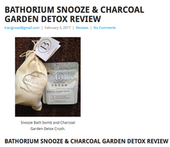 Bathorium Blogger review