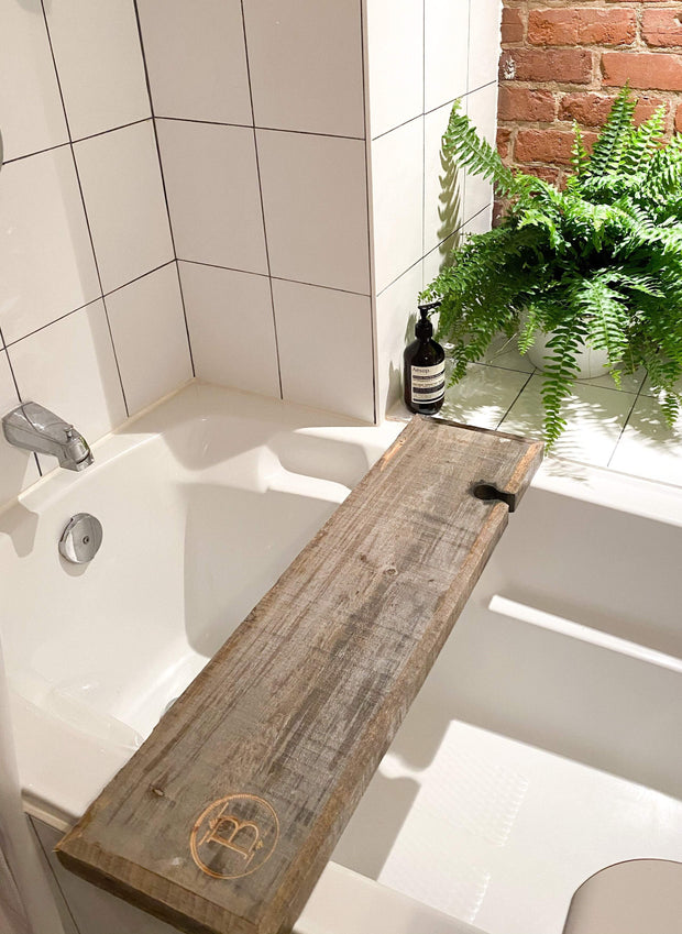 Reclaimed Wood Artisan Bath Board Bathorium