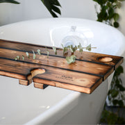 Burnt Finish Reka Bath Board Bath Board Dub Tub