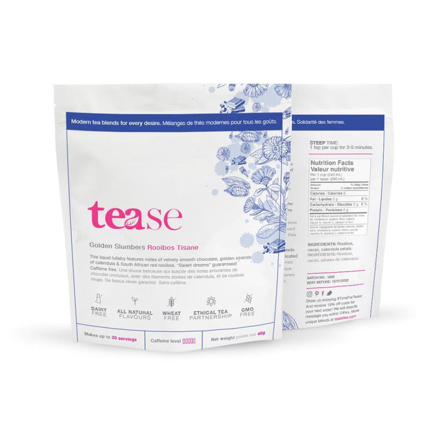 Tease Tea Loose Leaf Tea 40g Golden Slumbers Loose Leaf Tea