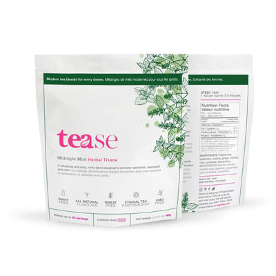 Tease Tea Loose Leaf Tea 40g Midnight Mint Loose Leaf Tea