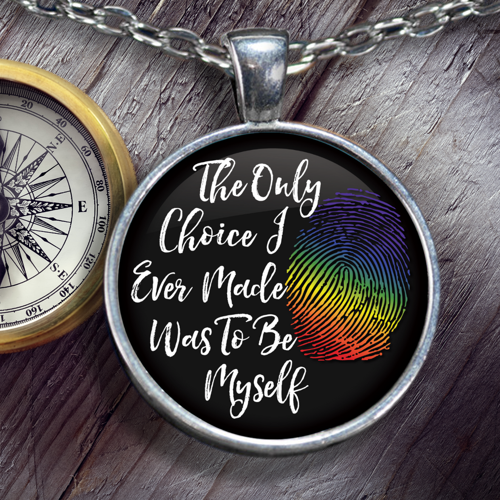 LGBT - Be Myself Necklace
