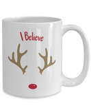 I Believe Holiday Coffee Mug