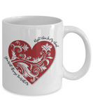 You Will Always Be With Me - White Mugs - BadAss Shirt Company - 2