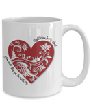 You Will Always Be With Me - White Mugs - BadAss Shirt Company - 4